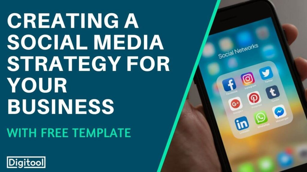 creating a social media strategy - phone with social media apps