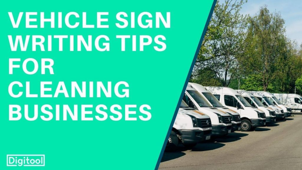 Vehicle sign tips - pictures of vans